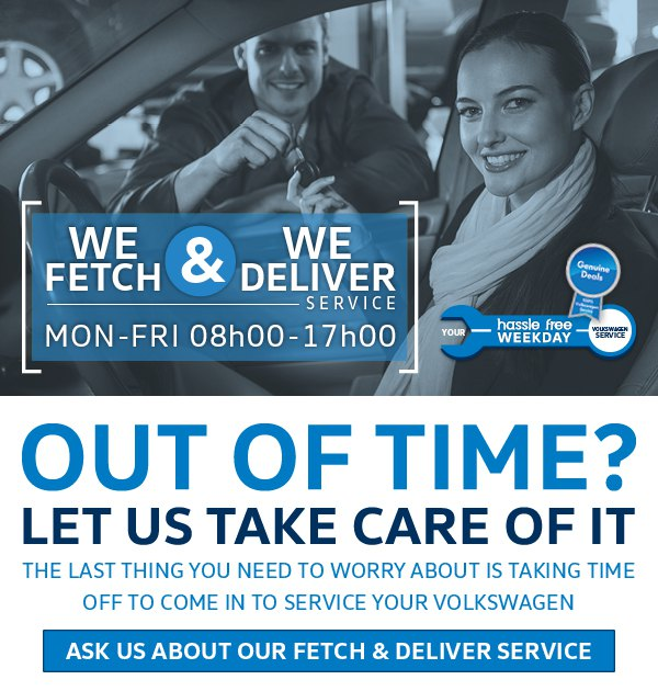 Fetch & Deliver Service