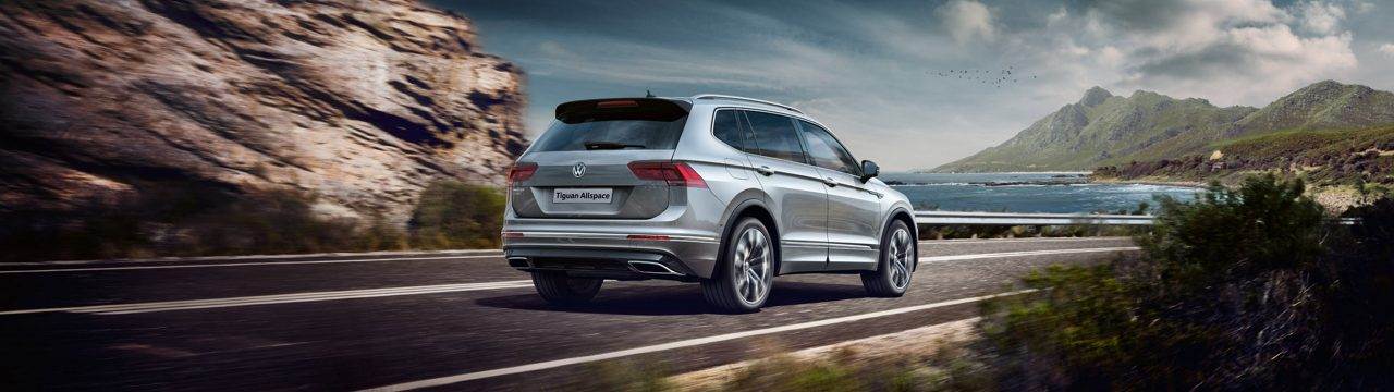 Go places with Tiguan Allspace