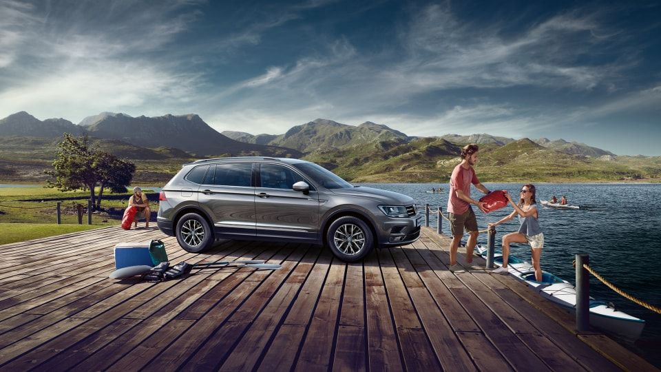 Family with Tiguan Allspace