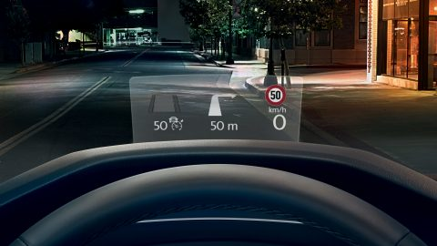 Tiguan The Head-up Display